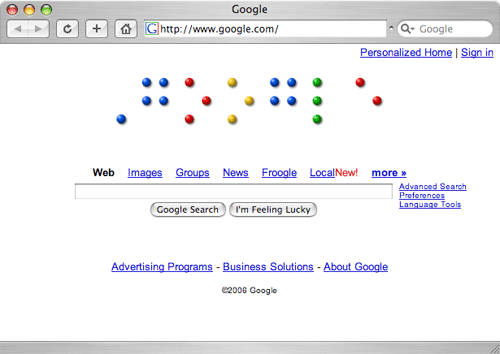 google-braille